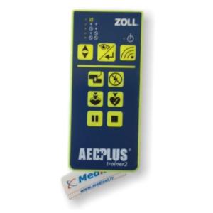 Fjernbetjening til Zoll AED Plus træner