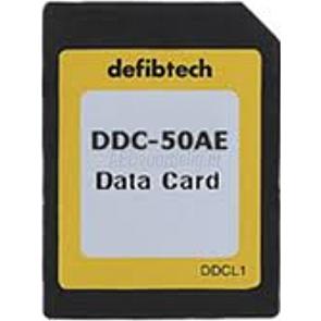 Defibtech Datakort(50-minutters, Audio)