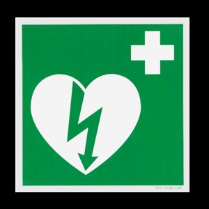 DefiSign Klistermærke til hjertestarter