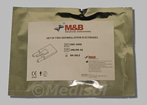M & B AED7000 elektroden