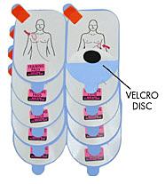 Defibtech Trænings pads til voksne  (5 stk)